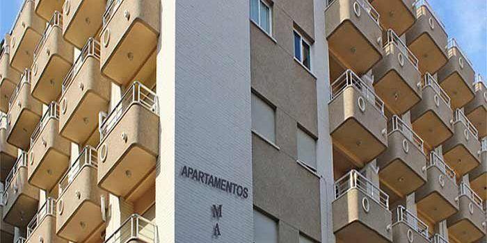 Edificio apartamentos Maja en Benidorm